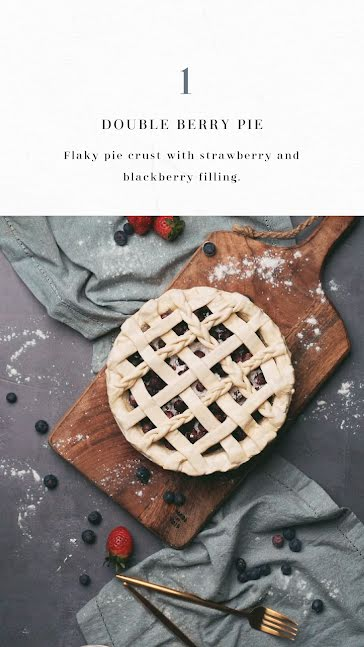 Double Berry Pie - Instagram Story Template
