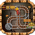 Rail Track Maze : Train Puzzle Game icon