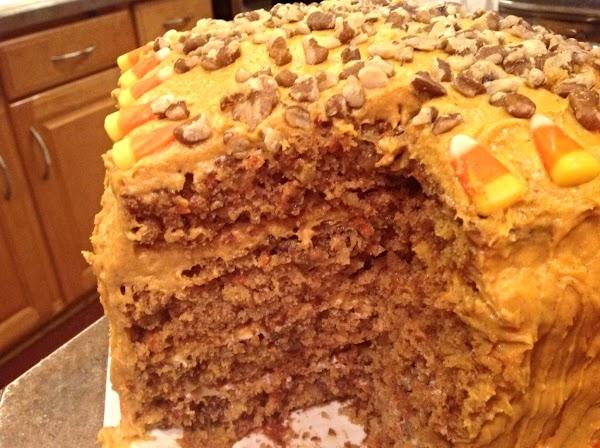 Dan's Mile High Birthday Carrot Cake Recipe