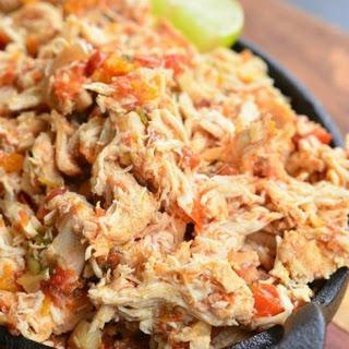 Crock Pot Shredded Salsa Chicken