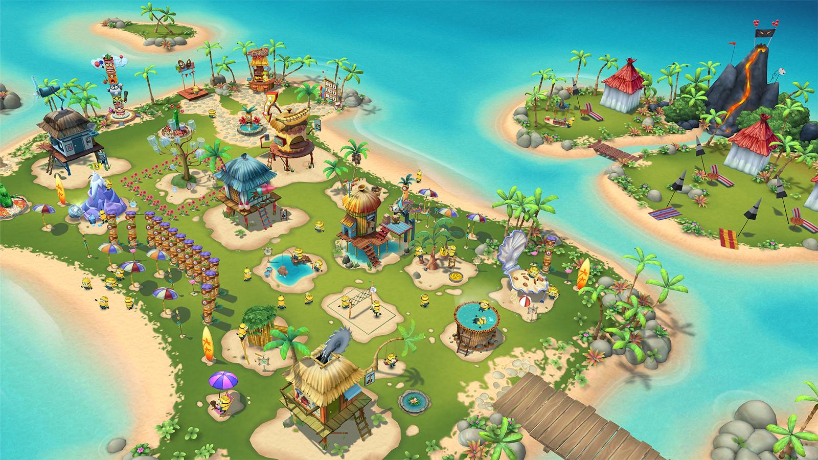 Миньоны: райский уголок