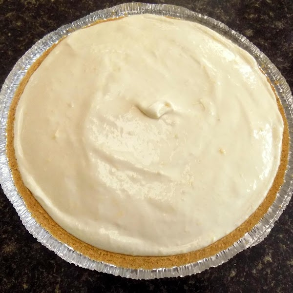 Pour the mixture into a 9 inch shortbread or graham cracker crust. Cover and...