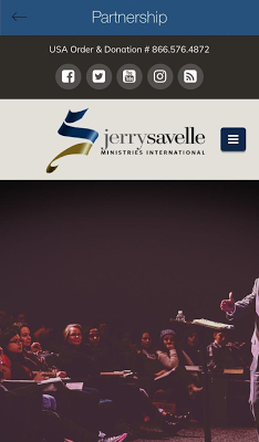 Jerry Savelle Ministries - screenshot