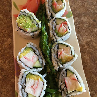 California Sushi Roll.