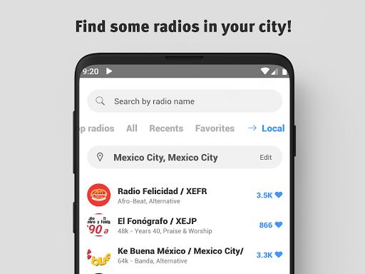 Radio Mexico Free: FM Radio, Live Radio screenshot 4