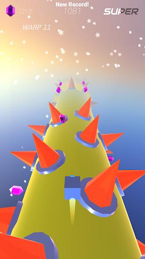 Warp and Roll - running flight action game 1.1.7 screenshots 4