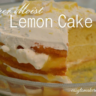 Lemon Cake Recipe - Super Moist