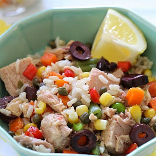 Tuna Brown Rice And Vegetables Recipes