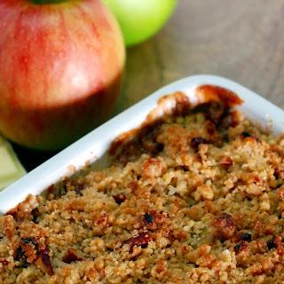 White Chocolate, Ginger & Apple Crumble Recipe