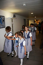 Photo: Die Kindertanzgruppe Liestal im Anmarsch