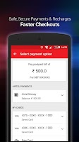 Screenshot of Mobile Recharge & Pay Bill
