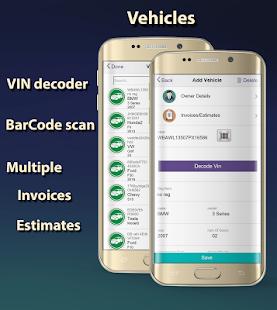 ARI (Auto Repair Invoices) - náhled