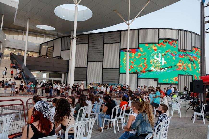 El Centro Comercial Torrecárdenas, uno de los espacios del Festial Urban Lei.
