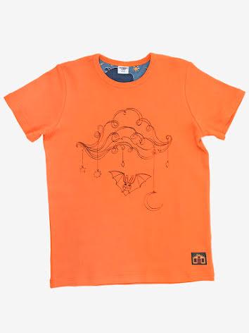 Modeerska Huset T-shirt Bat Cloud
