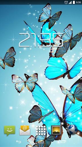 Blue Butterfly 4K Live Wallpap