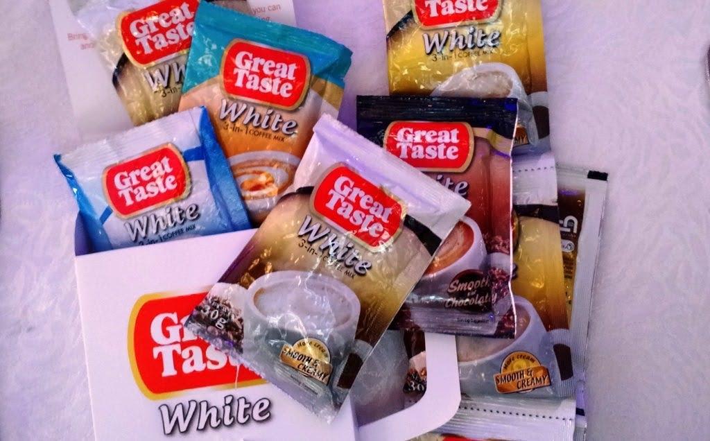 GREAT TASTE WHITE 3-IN-1 COFFEE VARIANTS