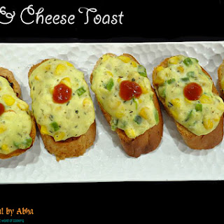 Corn & Cheese Toast