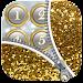 Zipper Lock Screen Glitter icon