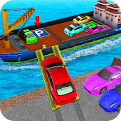 Cargo Ship Parking Ramp: Free Car Parking Lot