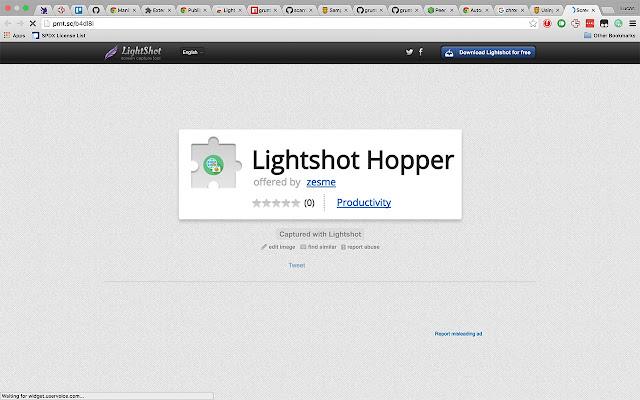 Lightshot Hopper