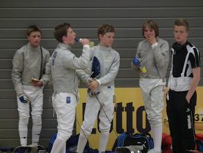 Photo: Alexander, DirkJan, Peppijn en Kilian