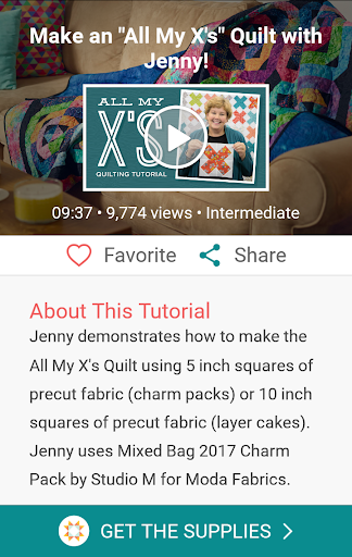 Quilting Tutorials by MSQC screenshots 3