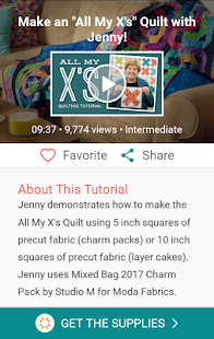 Quilting Tutorials by MSQC- screenshot thumbnail