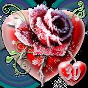 App 3D Ice Rose Love Theme APK for Windows Phone