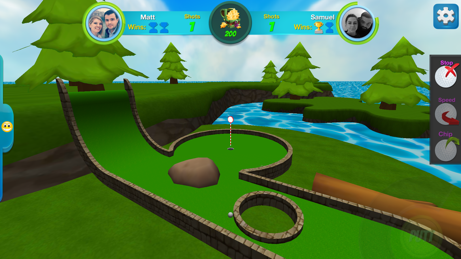 Mini Golf Stars 2- screenshot
