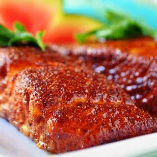 Easy Oven Baked Salmon.
