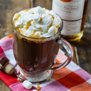 Butterscotch Whiskey Hot Chocolate.