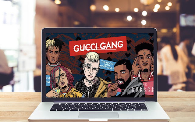 Gucci Gang HD Wallpapers Music Theme