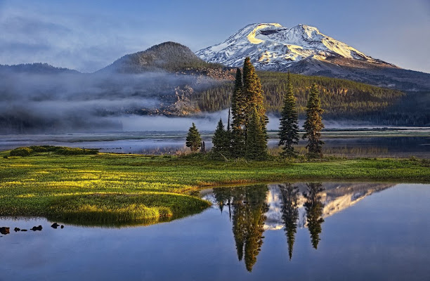 Sparks Lake Sunrise di Massimo Squillace