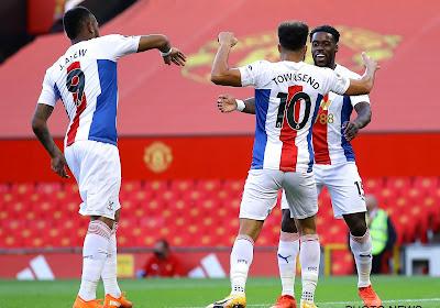 Premier League : Wilfried Zaha en feu, Manchester United tombe malgré un but de Donny van de Beek