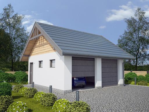 Projekty Garaży Drewnianych Toobapl