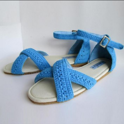 Knitted Sandals ss1