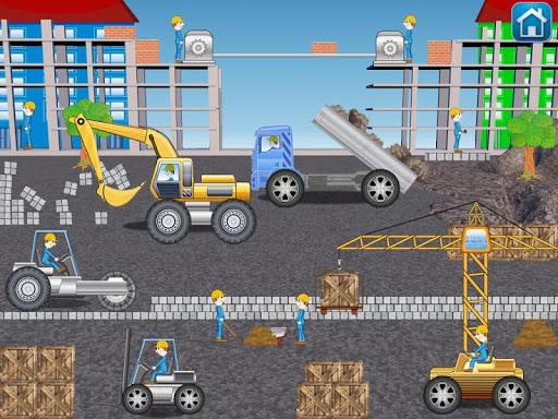 Wimmelbuch car construction