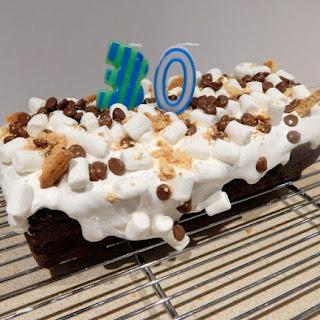 Chocolate Smores Cake