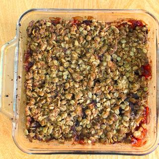Gluten Free Apple Cranberry Crisp Recipe