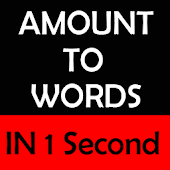 Amount to Words In 1 Second
