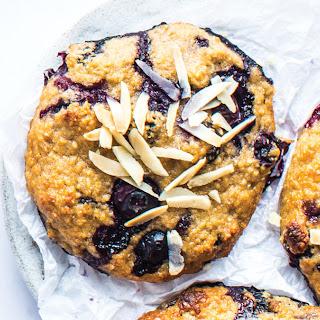 Blueberry Almond Breakfast Cookies.