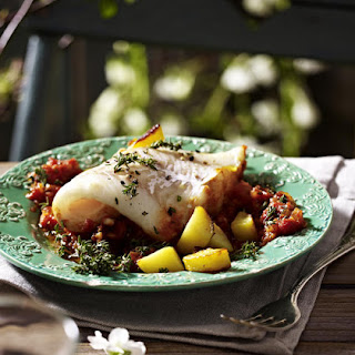Cod with Tomato and Thyme
