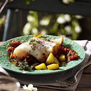 Cod with Tomato and Thyme.