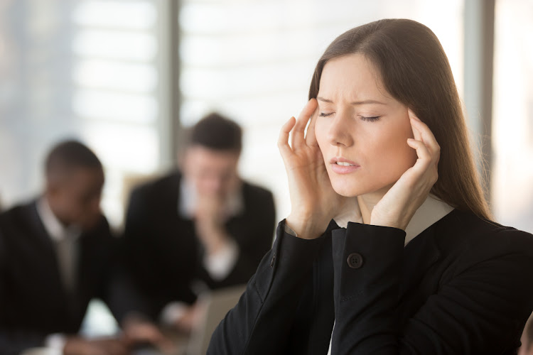 Headaches are one of the symptoms of chronic fatigue syndrome.