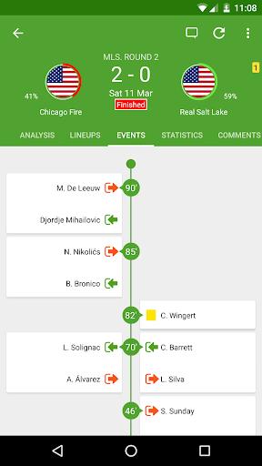 BeSoccer - Soccer Live Score  screenshots 2