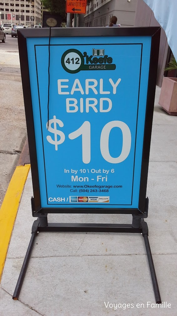 Early bird pkg