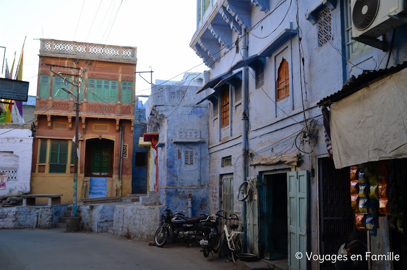 Jodhpur blue houses