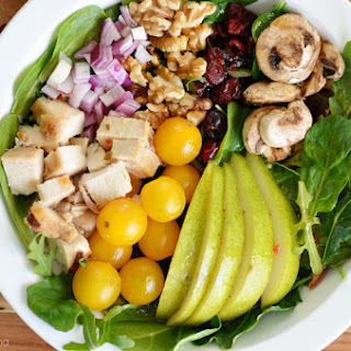 Easy Chicken Pear Walnut Salad