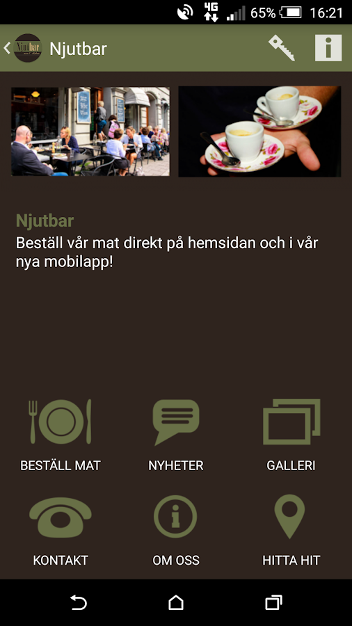 Njutbar- screenshot