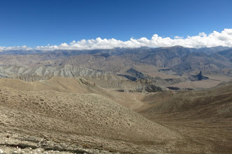 Photo: Sur les crêtes (Kali Gandaki, Tangge)